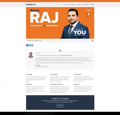 Mahesh Raj Website
