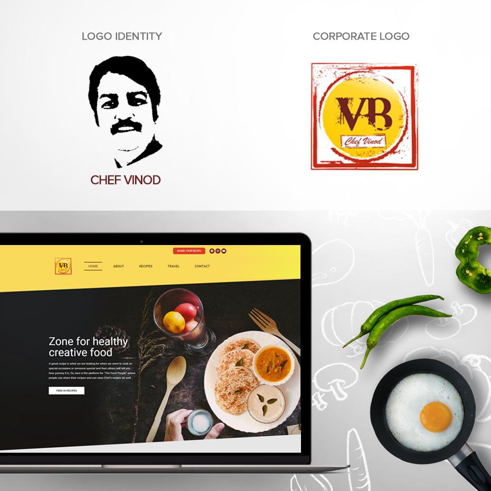 Chef Vinod Branding