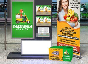 Sabziwala.Online Branding